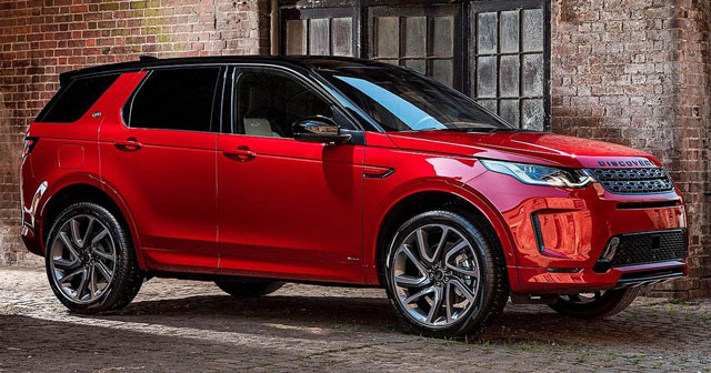 New Land Rover Discovery Sport 2020 - modern four-wheel drive style