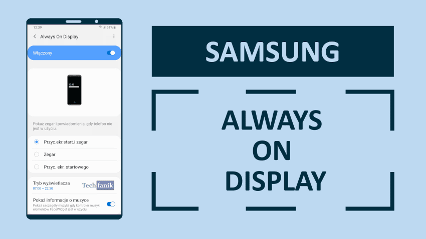 Samsung Always On Display