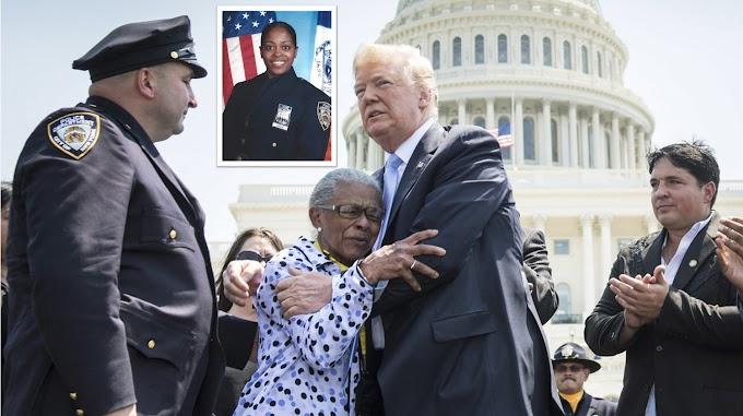 Trump describe como una de las heroínas más valientes policía dominicana asesinada en El Bronx
