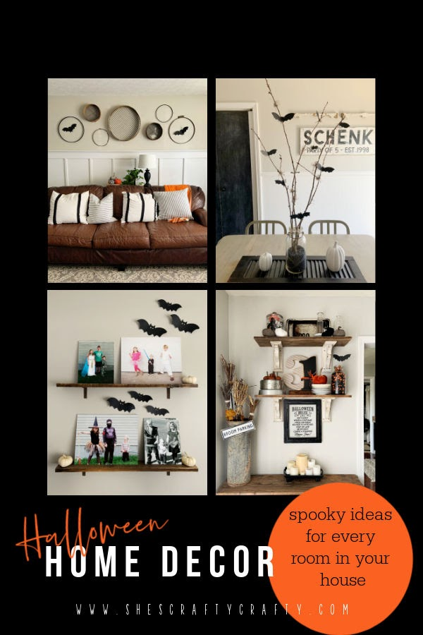Halloween Home Decor - inspiration for every room in your house