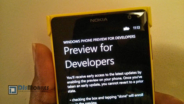 Windows Phone 8.1 Developer Preview coming early next week