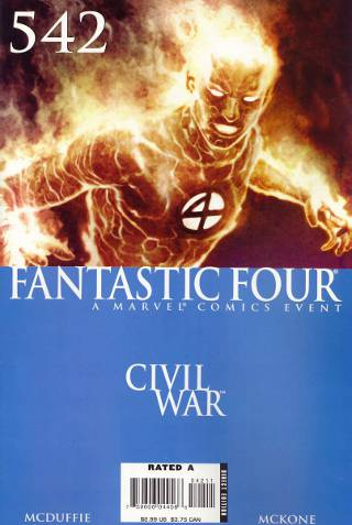 Civil War: Fantastic Four #542 PDF
