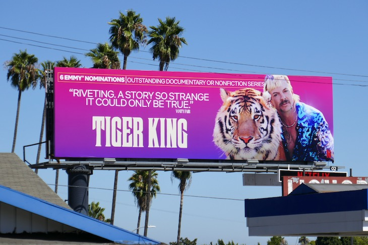 Tiger King 6 Emmy nominations billboard