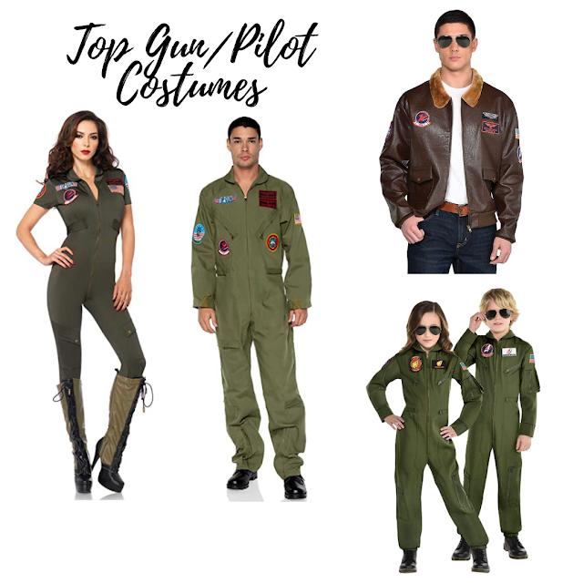 Top Gun and Pilot Themed Costumes