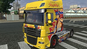 TTGL skin for DAF XF