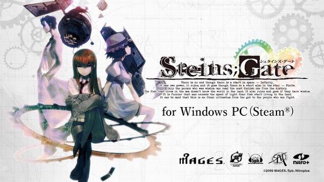 Anime Steins;Gate Terbaik dari Visual Novel