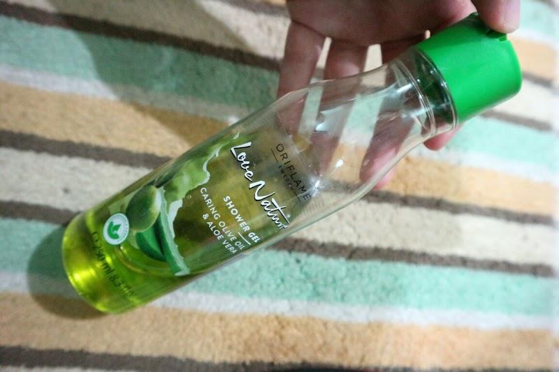 Love Nature Shower Gel Caring Olive Oil & Aloe Vera