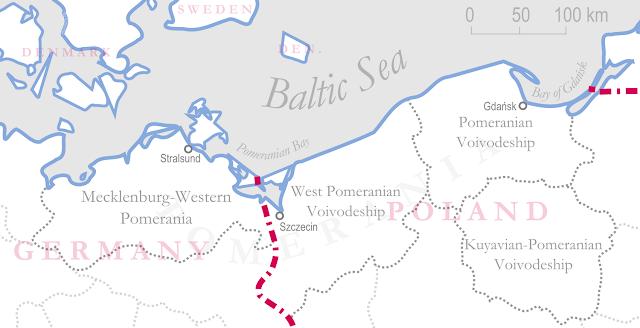 Roteiro para uma manhã em Pomerode (SC) - mapa da Pomerânia