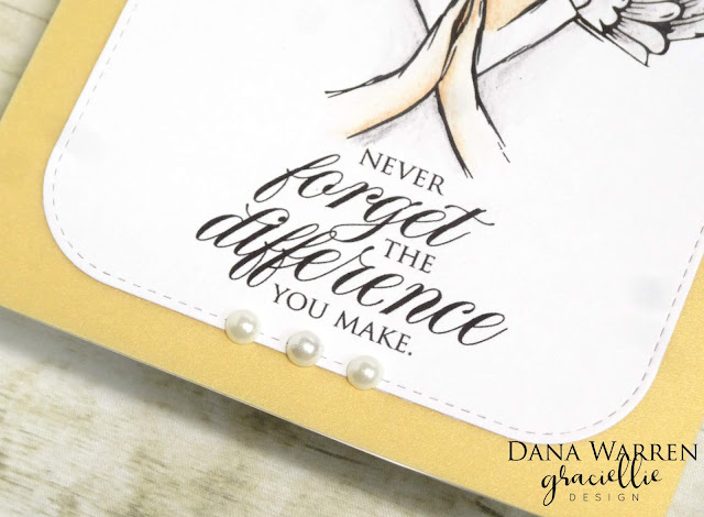 Dana Warren - Kraft Paper Stamps - Graciellie Designs