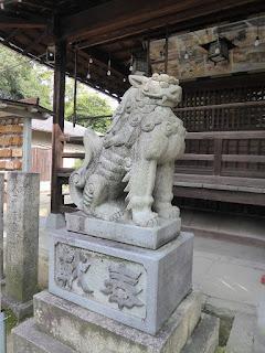 佐太天神宮 狛犬