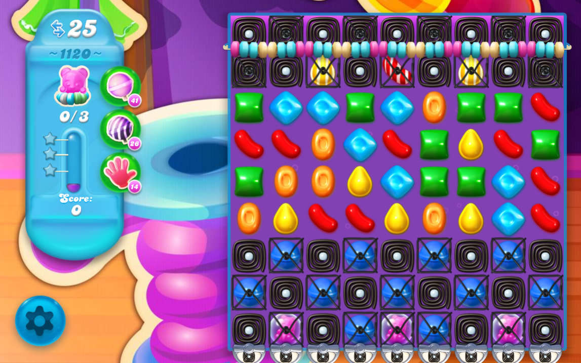 Candy Crush Soda Saga level 1120