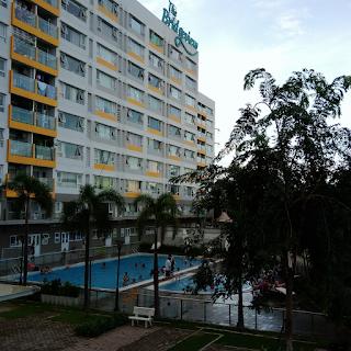 hồ bơi căn hộ ehome 5 the bridgeview khu nam long