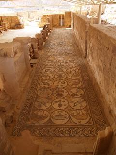 Mosaicos. Iglesia bizantina