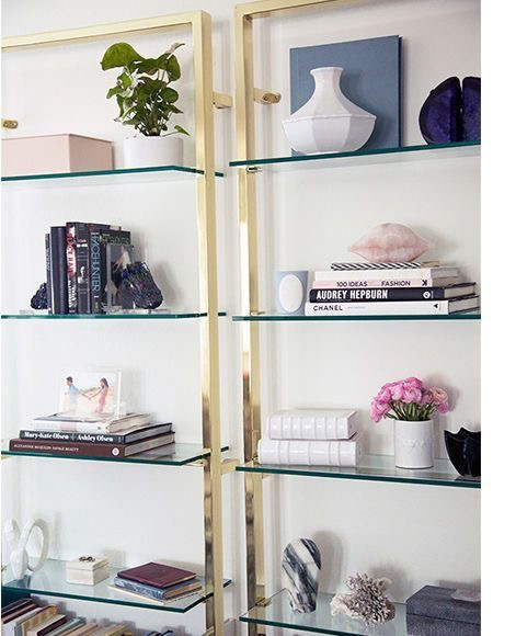 At Home | Décor Inspiration: Styling Open Shelves