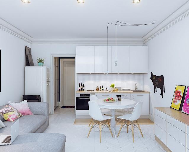 kitchen living room open plan design ideas