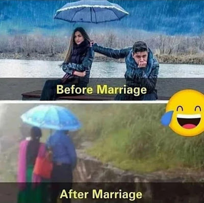 funny memes on marriage couple.