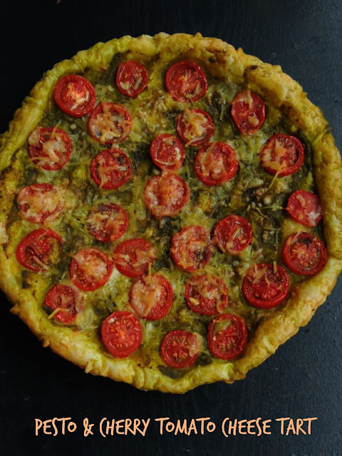 Pesto & Cherry Tomato Cheese Tart.jpg