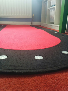 The Marvellous LED Rug from BB's Room