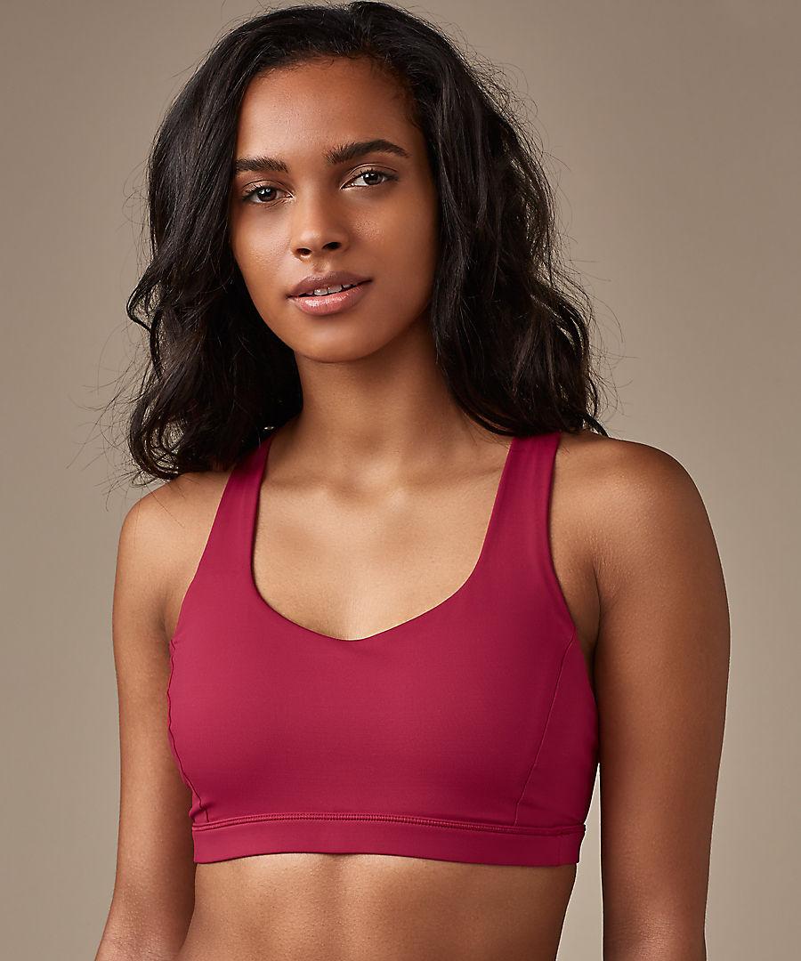 2ca5cf2dac2e1 Ruby Red Free to Be Serene Bra. I hope we get this bra this week.