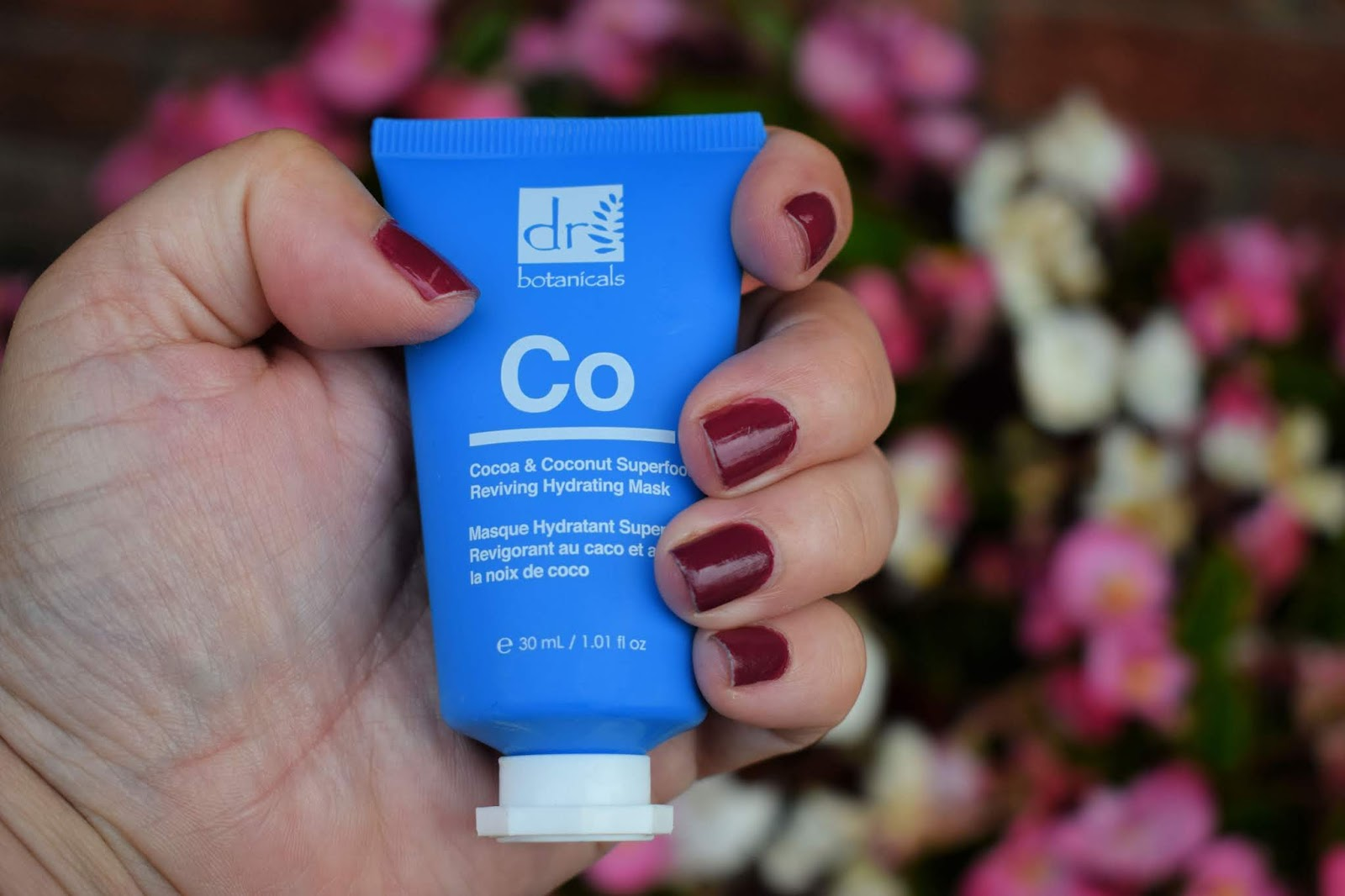 New Cocoa a coconut superfood reviving hydrating mask from Dr Botanicals review