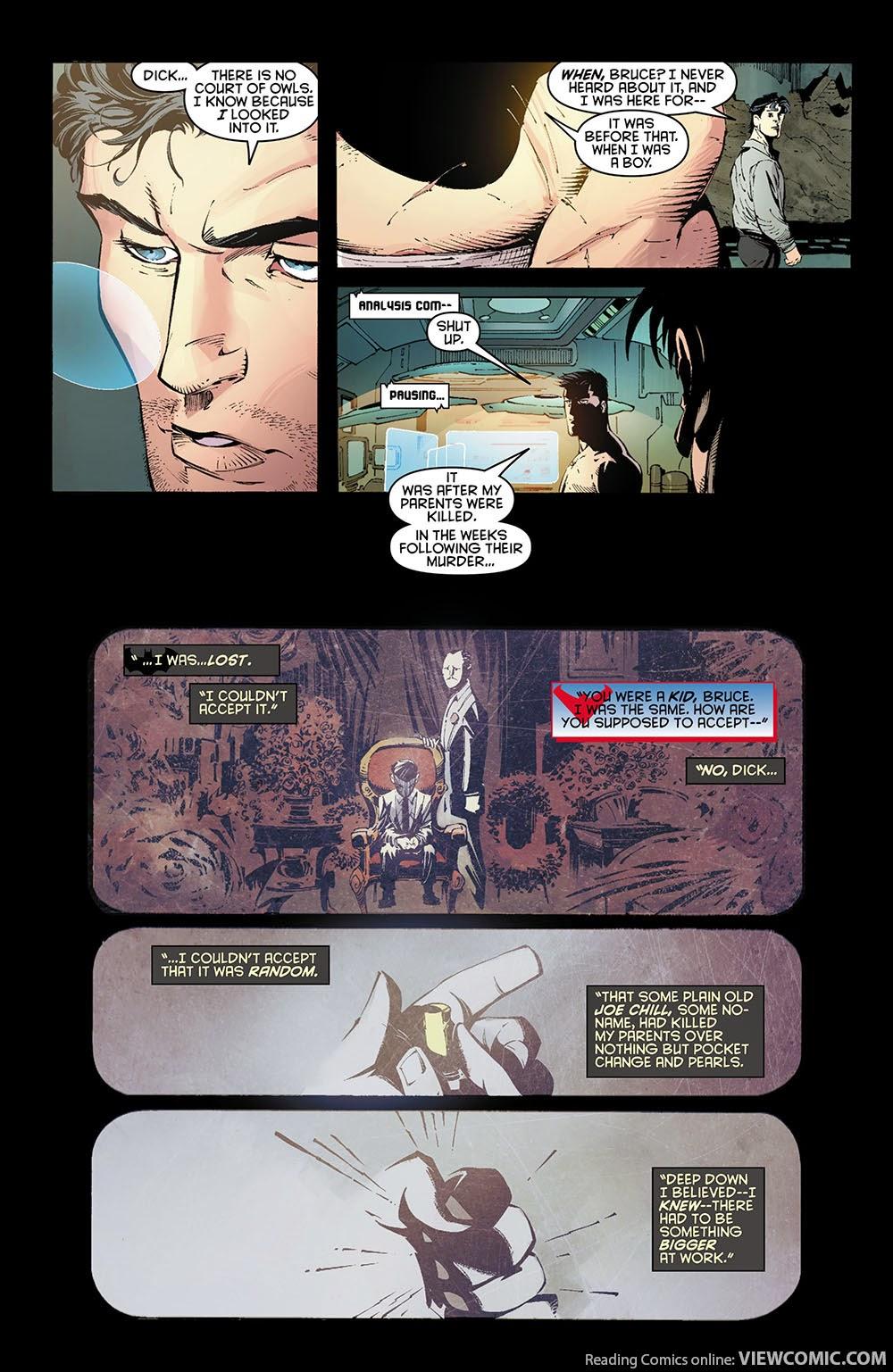 Batman v1 – The Court of Owls (2012) …… | Reading Comics