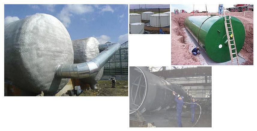 Полимочевина является наиболее подходящим материалом для гидроизоляции резервуаров и емкостей