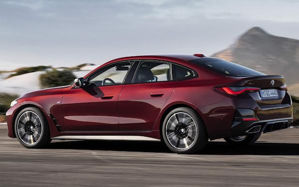 BMW apresenta o novo Série 4 Grand Coupé 2022  - fotos e especificações