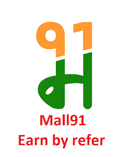 Earn by refer using Mall91 Money91