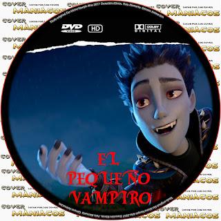 EL PEQUEÑO VAMPIRO -DER KLEINE VAMPIR- 2017 [GALLETA - DVD]
