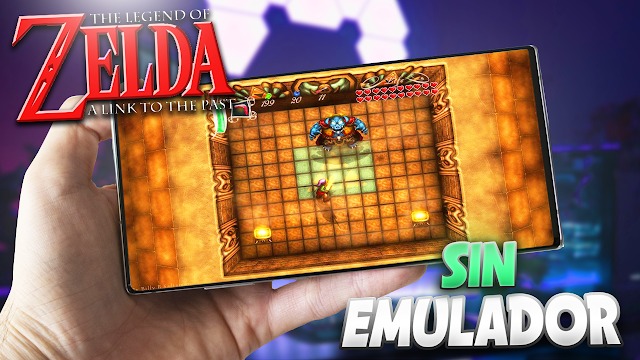 The Legend of Zelda: A Link to the Past Sin Emulador