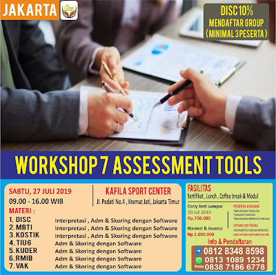 Workshop Psikologi Jakarta | Training Psikologi For Non Psikologi | WA: 0838-7186-6778