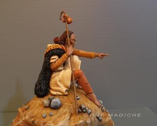 Statuetta sciamano fumetto