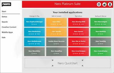 تحميل برنامج نيرو 2020 الاصدار بلاتنيوم Nero Platinum Suite
