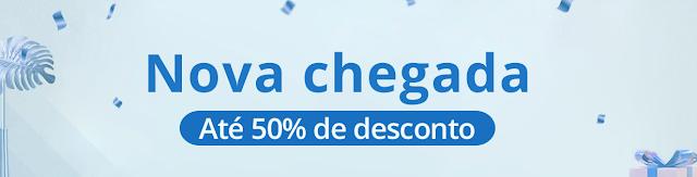 """Promoção """"Nova Chegada"""" na Gearbest"""