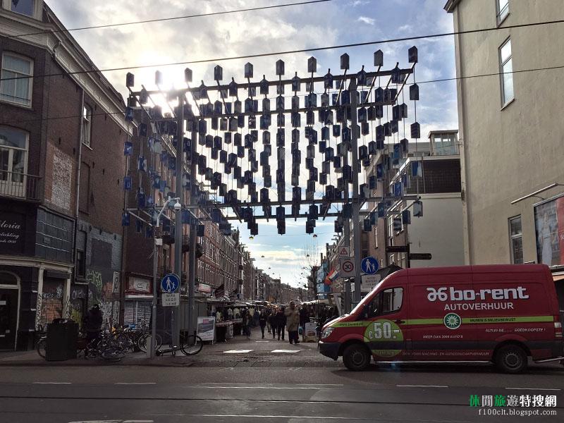 [荷蘭.阿姆斯特丹] 荷蘭當地市集Albert Cuyp Market以及花卉市集Bloemenmarkt