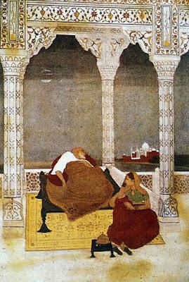 the passing of shah jahan