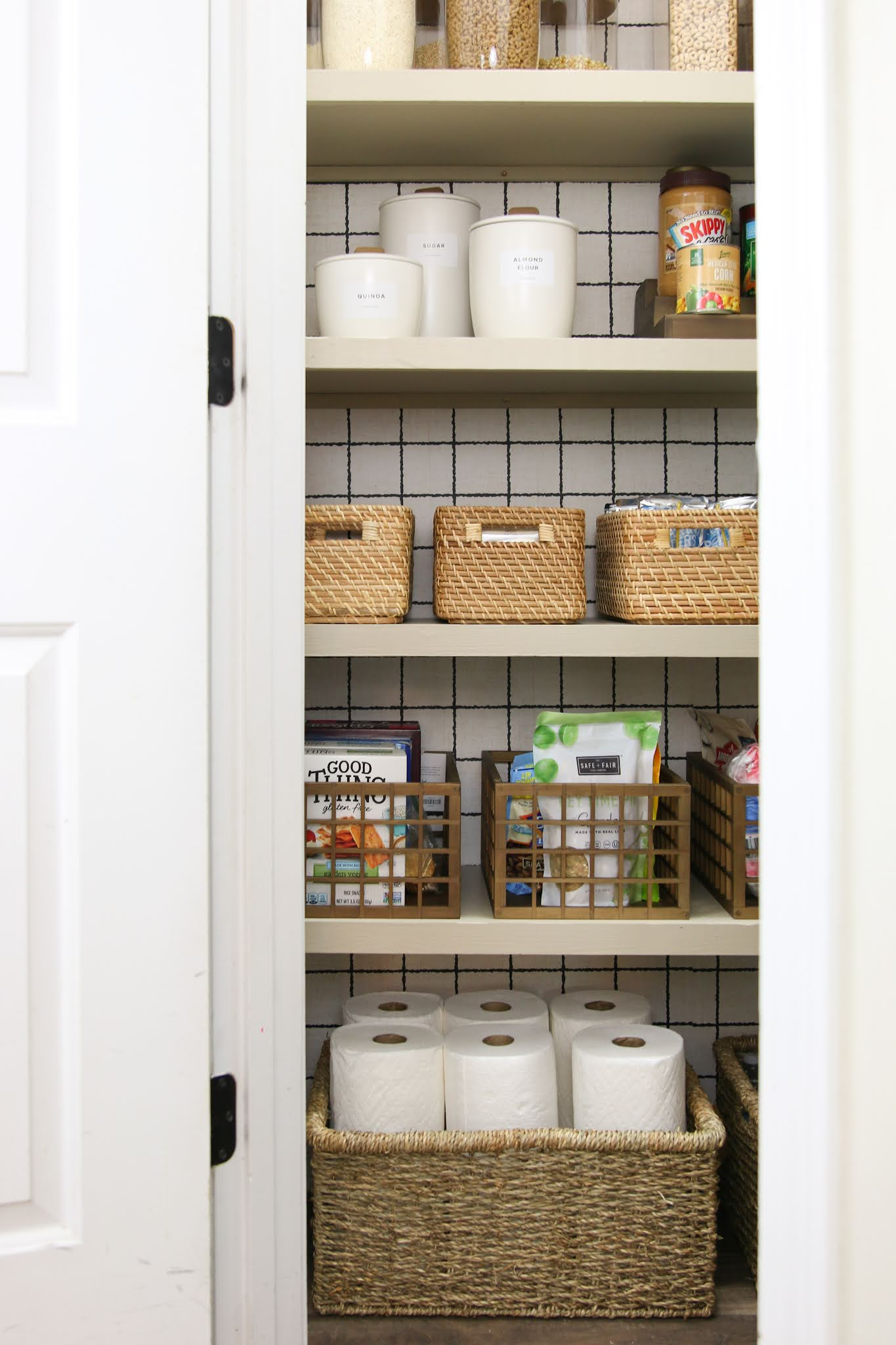 A Pretty and Practical Pantry Reveal
