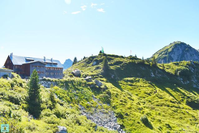 Refugio Freiburgerhütte en Vorarlberg, Austria