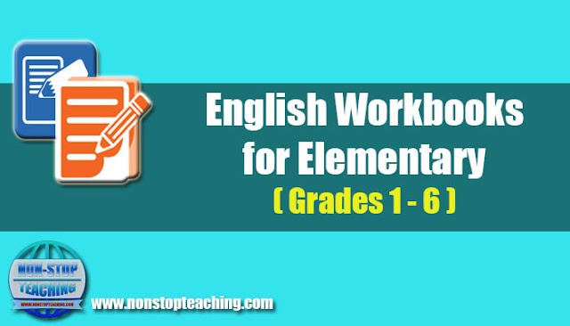 Printable English Workbooks for Elementary