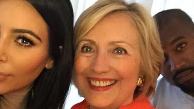 Hilary Clinton praises Kanye West after Kim Kardashian robbery iGoTell