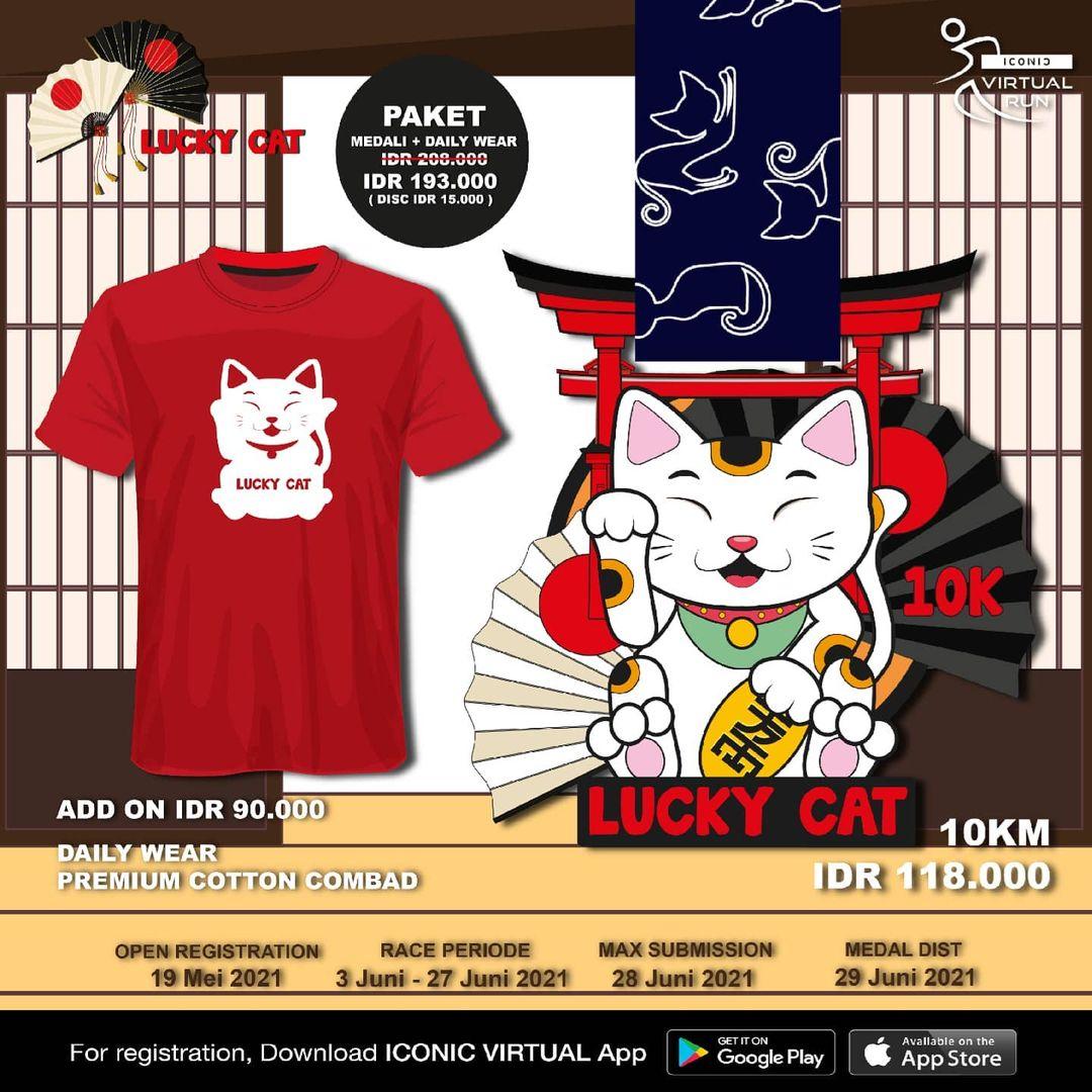 Iconic Virtual Run ∙ Lucky Cat • 2021