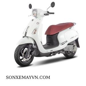 Bán Sơn xe máy SYM màu trắng