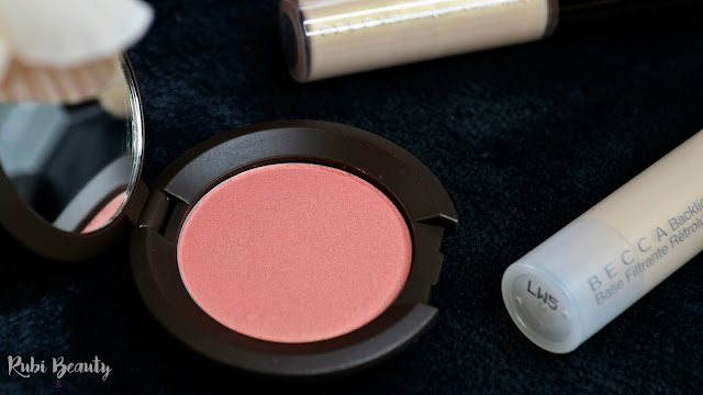 BECCA flowerchild review shimmering iluminador colorete