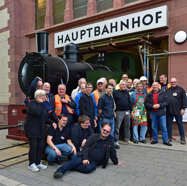 Mitglieder der Eisenbahnfreunde Witten e.V. (Foto: S.Kier)