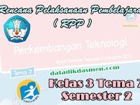 RPP KELAS 3 TEMA 7 SD/MI KURIKULUM 2013 REVISI 2018