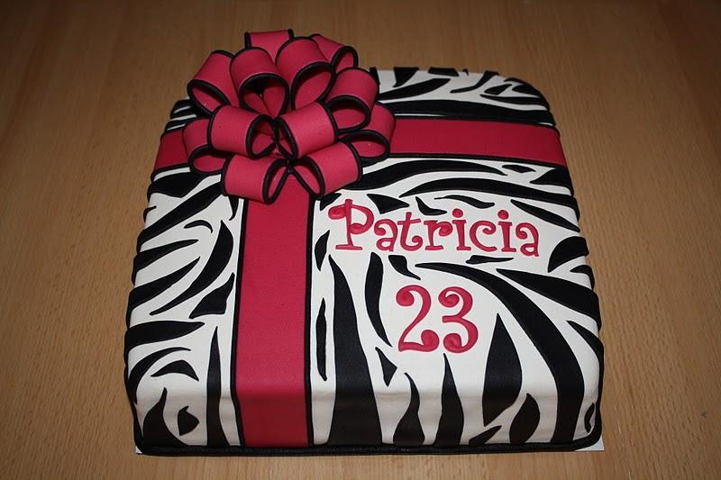 Zebra Taart