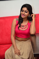 Akshita super cute Pink Choli at south indian thalis and filmy breakfast in Filmy Junction inaguration by Gopichand ~  Exclusive 112.JPG