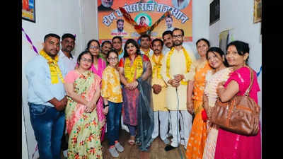 In Jaipur Team Vasundhara Raje opens office