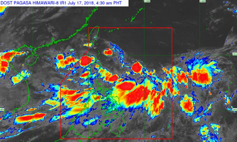'Bagyong Henry' PAGASA weather update July 17, 2018