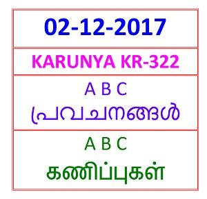 02-12- 2017 AB C Predictions  KARUNYA KR-322)